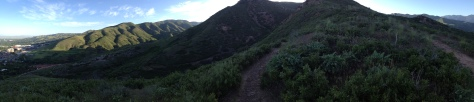Dawn in the Wasatch Mountains